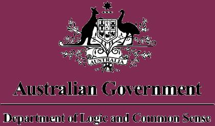Australian Government logo.