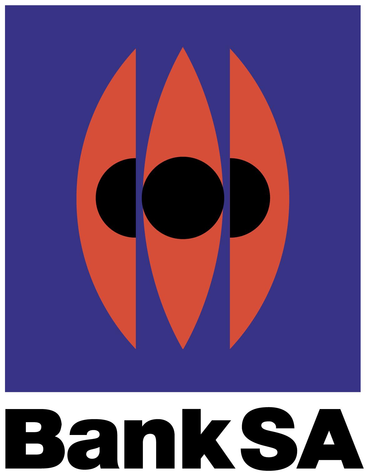 BankSA logo.