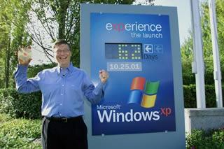 Bill Gates introducing XP