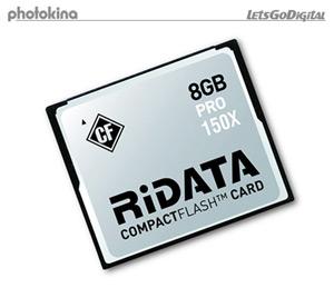 Ridata 8GB CompactFlash Card