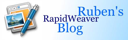 Ruben's RapidWeaver Blog