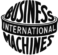 IBM's original logo