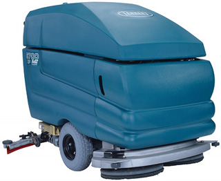 The Tennant 5700 industrial scrubber
