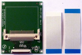 Arty-ZIF to Compact Flash adaptor card