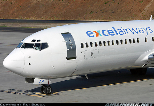 Excel Airways Boeing 737-8Q8 photo by Rui Sousa