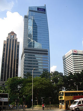 AIG Tower in Hong Kong, by Jack8080 on Wikipedia