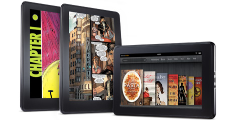Amazon Kindle Fire, from Amazon.com