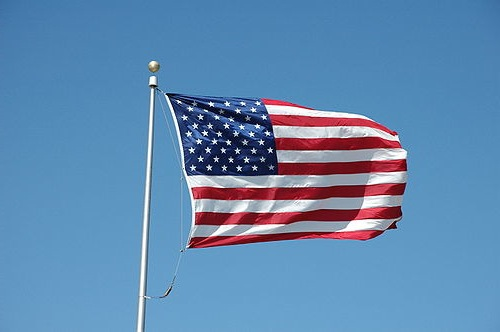 American flag photo by ShakataGaNai on Wikimedia Commons