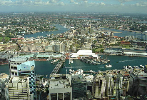 Urban sprawl in Sydney by Bunzip on Flickr