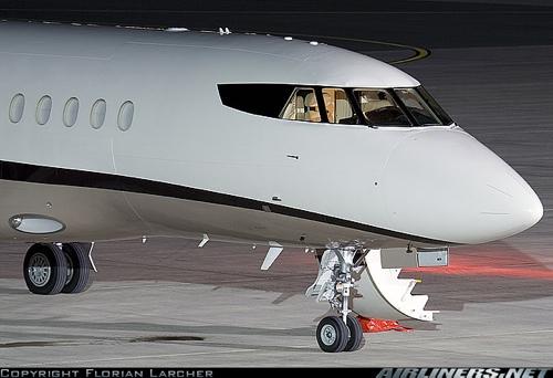 Dassault Falcon 900DX by Florian Larcher