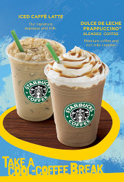 Starbucks Dulce de Leche