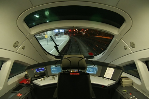 The driver's cab on a DB Class 411, by Sese Ingolstadt