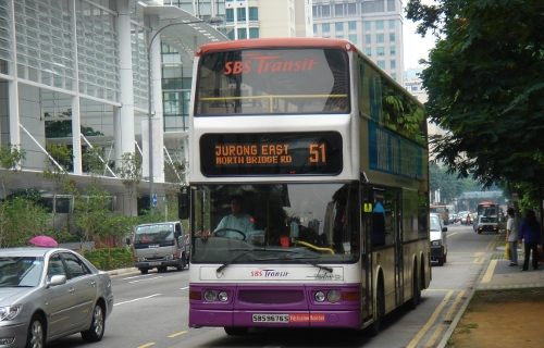 Singapore Bus by Mailer_Diablo on Wikipedia