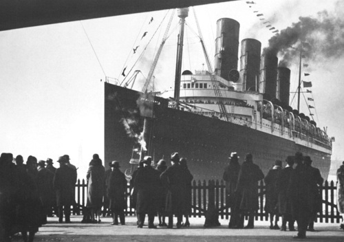 The RMS Mauretania
