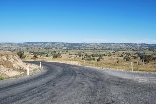 Photo of the Australian landscape just outside Bathurst