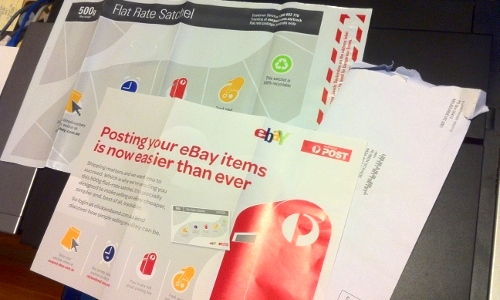 eBay Australia sending me postal bags? - Rubénerd