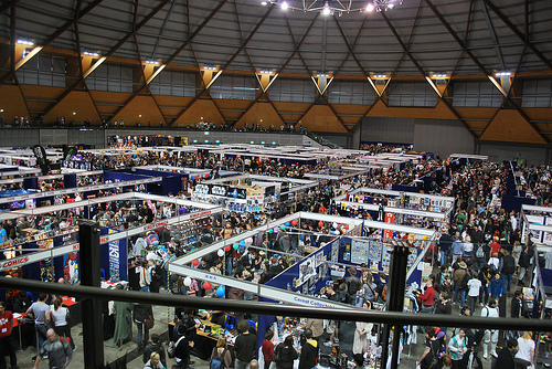 Photo of the Supanova floor in Olympic Park, click to expand!