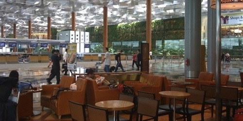 Photo taken by me at Changi Airport Terminal 3 in 2010