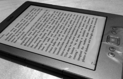 My brand new Kindle 4!