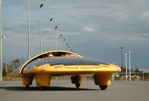 University of South Australia solar car