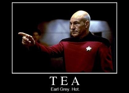 Picard: Tea. Earl Grey. Hot