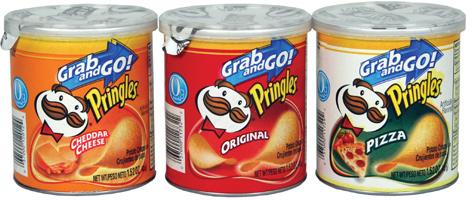 Mini Pringles cans