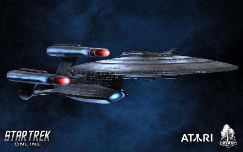 Galaxy-esque Dreadnought ship render