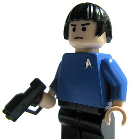Photo of the Spock LEGO Minifig