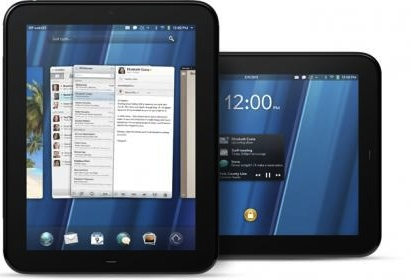 Photos showing webOS devices.