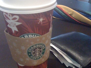 Starbucks Toffee Nut Latte. I know, I know!