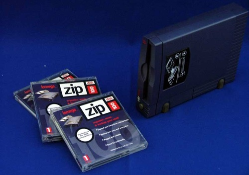 The classic parallel port Zip drive
