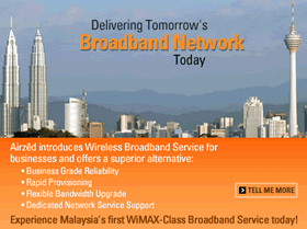 Wireless Network in Malaysia