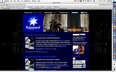 Rubenerd Show c.2006