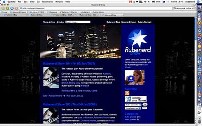 Rubenerd Show c.2007