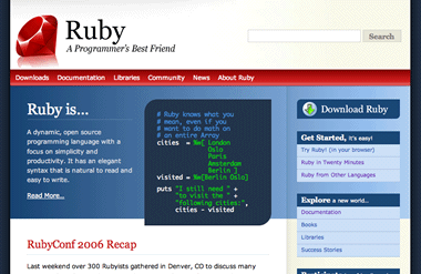 Ruby Website