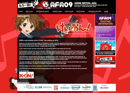 Anime Festival Asia 2009