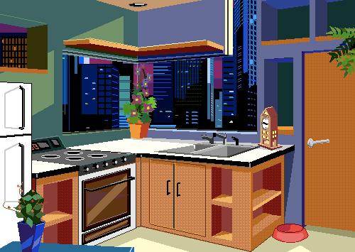 Microsoft Bob's Postmodern Kitchen