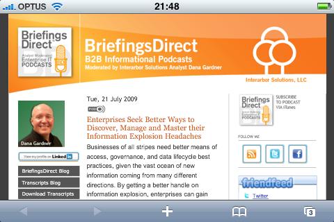 BriefingsDirect.com