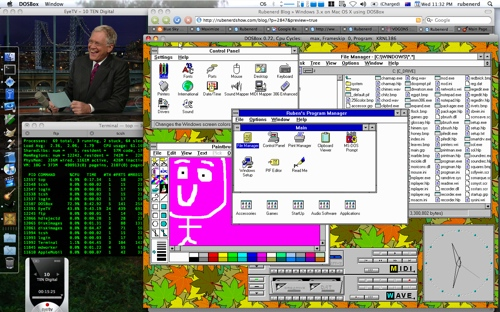 Windows 3.1 on Mac OS X