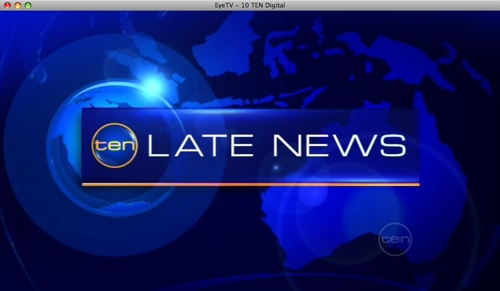 Channel 10 Late News title card