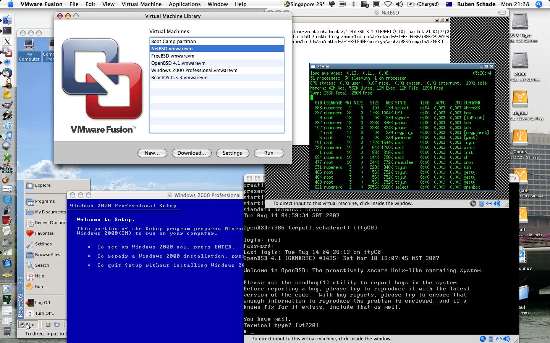 Rubenerd: Just bought VMware Fusion