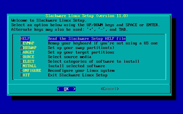 Slackware 11.0 Installer
