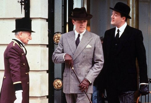 Jeeves and Wooster!