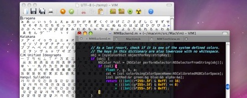 MacVim on Mac OS X Leopard