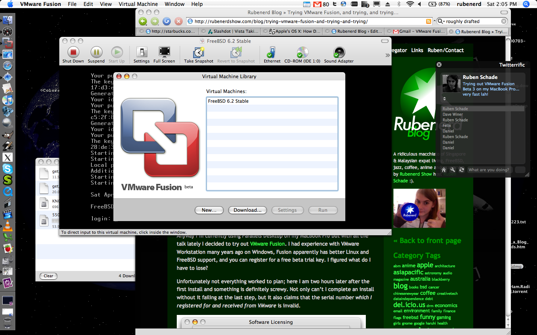 Install vmware fusion mac