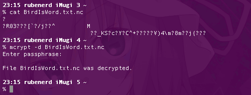 MCrypt in action