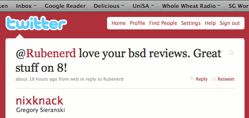 @Rubenerd love your bsd reviews. Great stuff on 8!