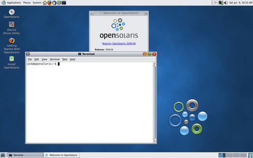 OpenSolaris LiveCD