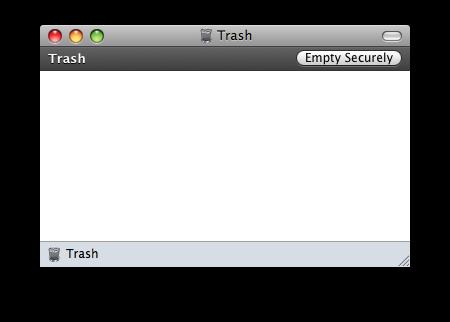 Phantom file in the Trash