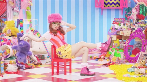 Kyary on her epic set.